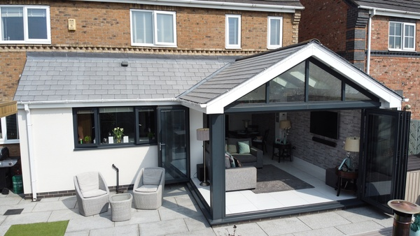Sunroom / Kitchen Extension Brooklands Hull