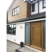 Front Door and Cladding